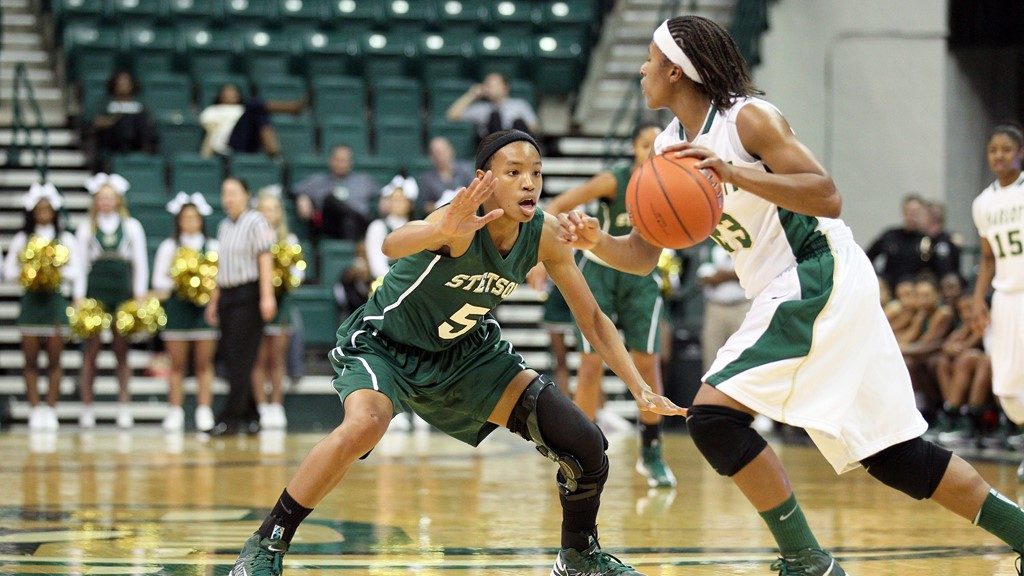 Stetson Notches Big Road Win at FAU 78-66